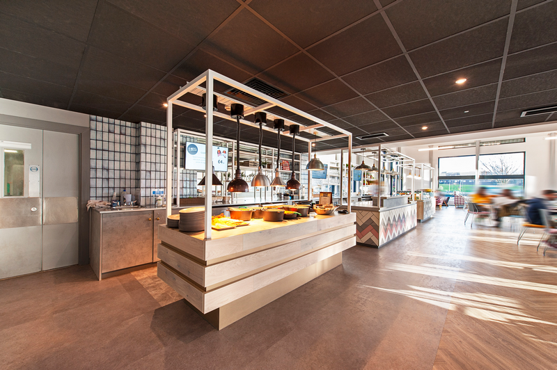 University of Sunderland catering design