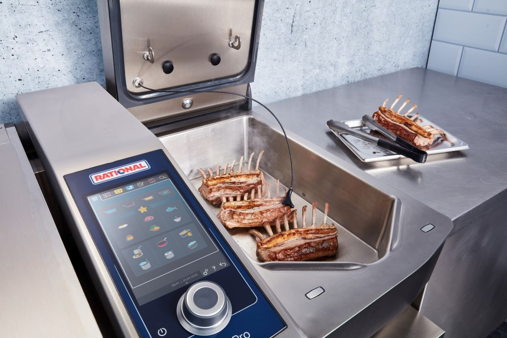 Rational's latest iVario Cooking System. Featured image for ceda website