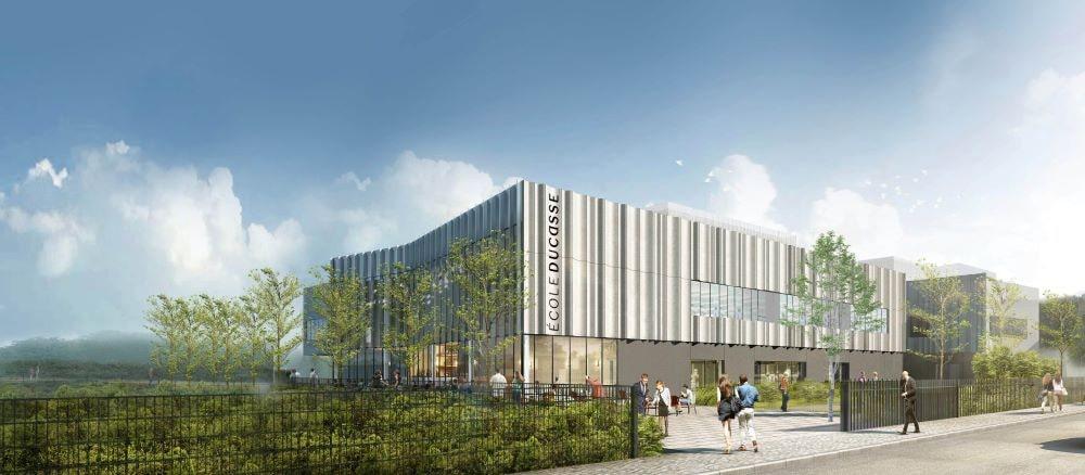 CGI of new Ecole Ducasse in Paris